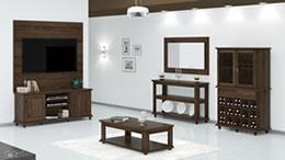 Sala de Estar Wood